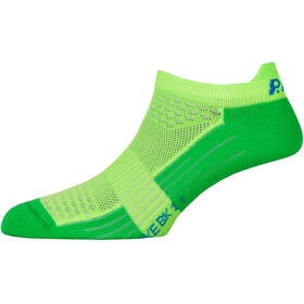 P.A.C. BK 1.1 Bike Footie Zip Socks Herre neon green